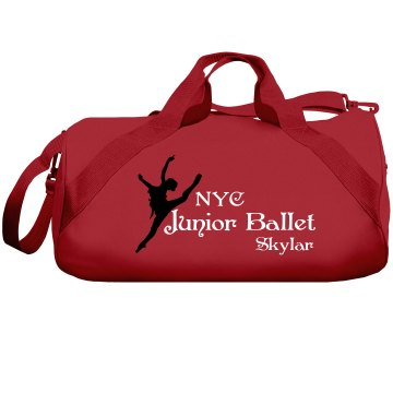 Junior Ballet Liberty Bags Barrel Duffel Bag