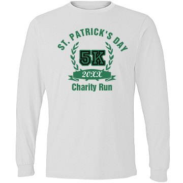 St. Paddy's Day Run Alo Long Sleeve Colorblock Tee