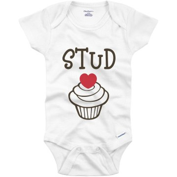 Stud Muffin Infant Gerber Onesies