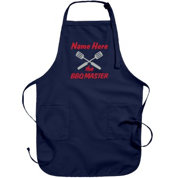 BBQ Master Husband Port Authority Adjustable Full Length Apron