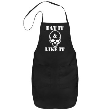 Eat It Apron Port Authority Adjustable Full Length Apron
