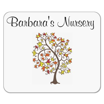 Barbara's Nursery Mousepad
