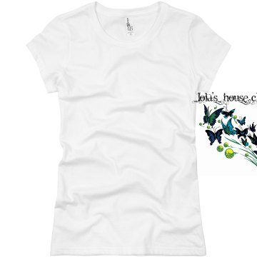 Lola's House Cleaning Junior Fit Basic Bella Favorite Tee
