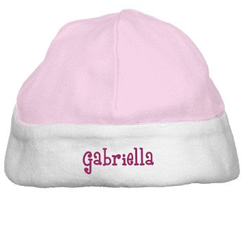Baby Gabriella Infant Bella Baby 1x1 Rib Reversible Beanie