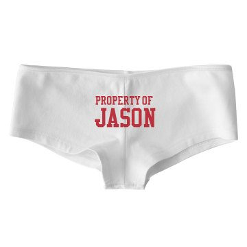Property of Jason Bella Contrast Satin Trim Thong