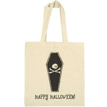 Happy Halloween Bag Liberty Bags Canvas Bargain Tote Bag