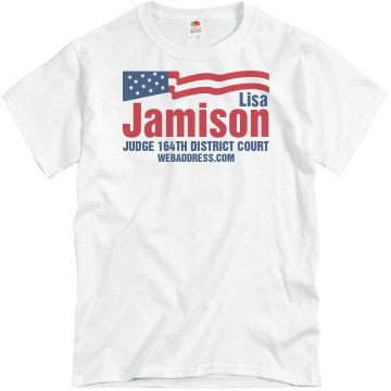 District Court Election Unisex Basic Gildan Heavy Cotton Crew Neck Tee