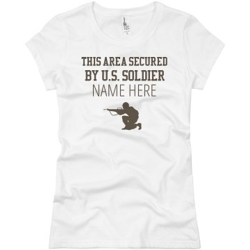 Area Secured Junior Fit Bella Sheer Longer Length Rib Tee