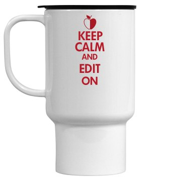 Edit On Mug 15oz Travel Mug