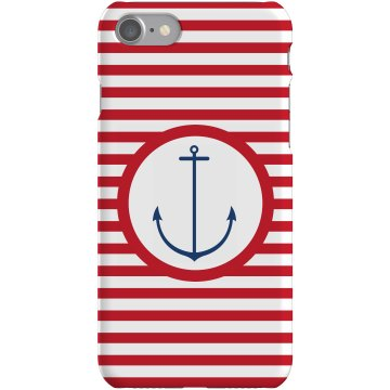 Anchor iPhone Case Plastic iPhone 5 Case Black