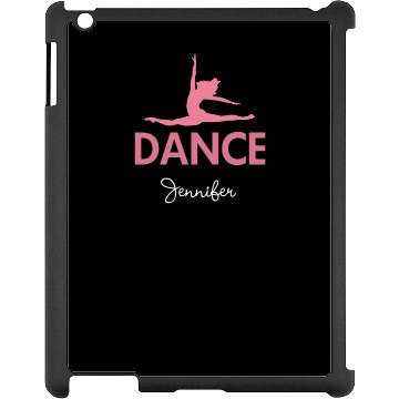 Custom Dance iPad Case Black iPad Snap-on Case
