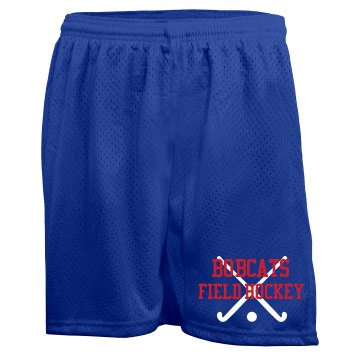 Field Hockey Shorts Ladies Badger 5&#x27;&#x27; Inseam Pro Mesh Tricot Shorts