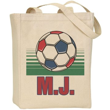 Soccer Tote Liberty Bags Canvas Tote