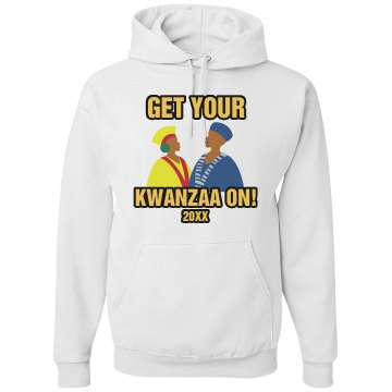 Kwanzaa On Tee Unisex Gildan Heavy Blend Hoodie