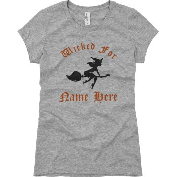 Tom&#x27;s Wicked Witch Junior Fit Basic Bella Favorite Tee
