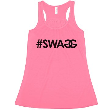 Swag Misses American Apparel Neon Oversized Crop Tank