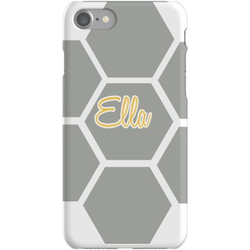 Ella iPhone 5 Case Plastic iPhone 5 Case White