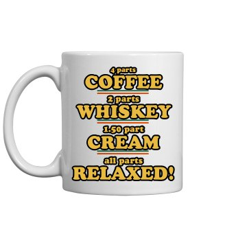 Irish Coffee Is Delish 11oz Ceramic Coffee Mug