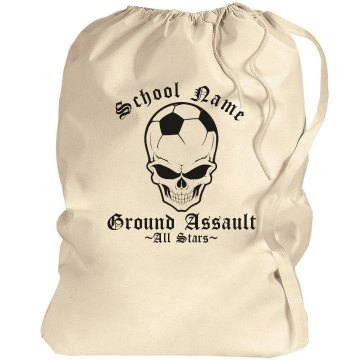 Soccer Ground Assault Bag Port Authority Laundry Bag