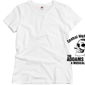 High School Theater Drama Misses Relaxed Fit Basic Gildan Heavy Cotton Tee