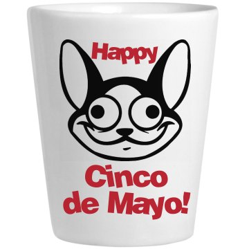 Cinco De Mayo Shot Ceramic Shotglass