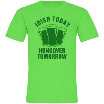 A Bright Irishman Unisex American Apparel Neon Crew Neck Tee