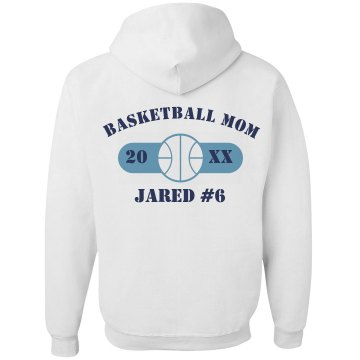 Basketball Mom Hoodie Unisex Gildan Heavy Blend Hoodie