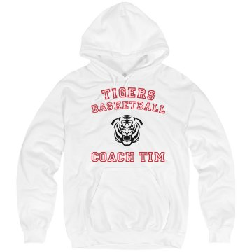 Tigers Coach Unisex Hanes Ultimate Cotton Heavyweight Hoodie