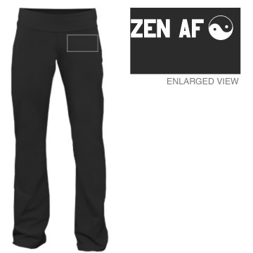 Jen's Zen Yoga Pants Junior Fit Bella Fitness Pants