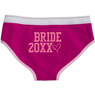 Bride Bella Logan Boyfriend Brief