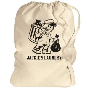 Jackie's Laundry Port Authority Laundry Bag