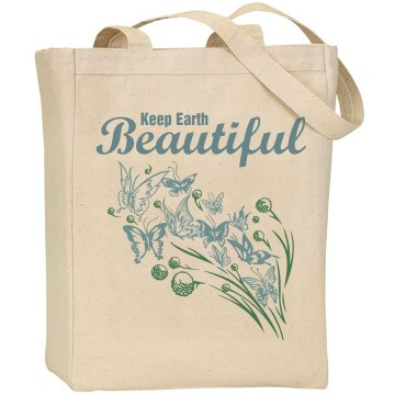 Keep Earth Beautiful Liberty Bags Canvas Tote