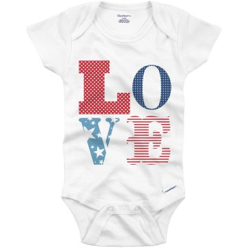 World Champs Fireworks Infant Gerber Onesies