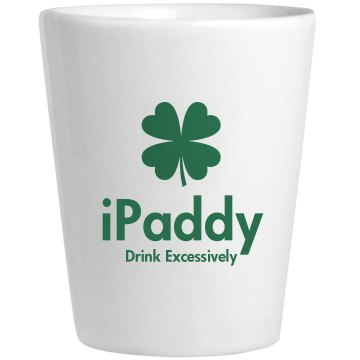 IPaddy Ceramic Shotglass