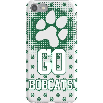 Go Bobcats Case Plastic iPhone 5 Case Black