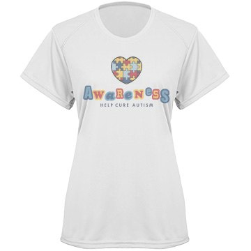 Autism Puzzle Heart Tee Paragon Women&#x27;s Performance Tee