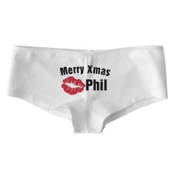 Merry Xmas Bella Low Rise Thong