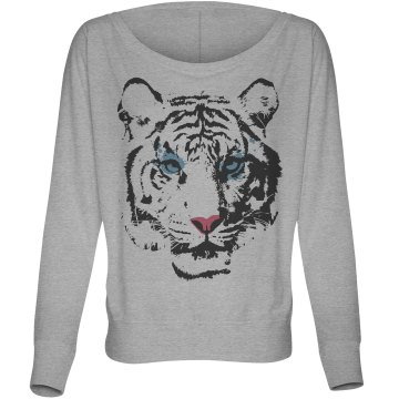 Tiger Fashion Tee Misses Bella Flowy Lightweight Relaxed Dolman Tee