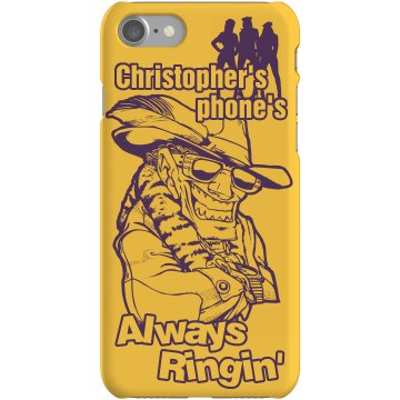 Pimp Chris iPhone Cover Plastic iPhone 5 Case Black