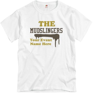 The Mudslingers Unisex Basic Gildan Heavy Cotton Crew Neck Tee
