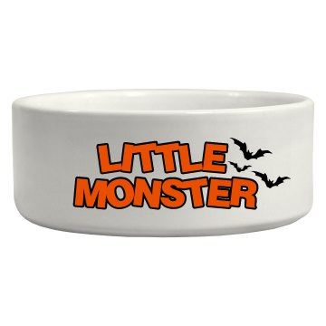 Little Monster Pet Bowl Ceramic Pet Bowl