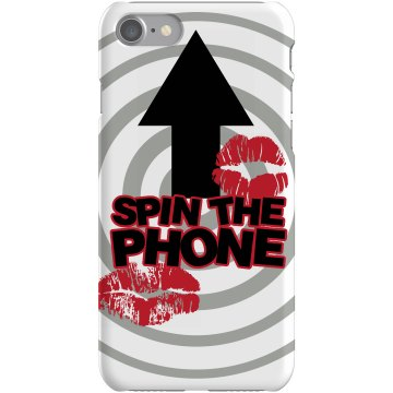 Spin The Phone Game Plastic iPhone 5 Case Black