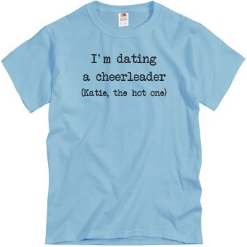 Dating a Cheerleader Unisex Basic Gildan Heavy Cotton Crew Neck Tee