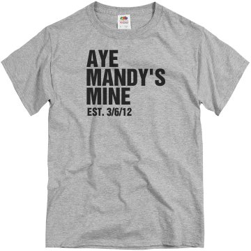 Mandy's Mine Tee Unisex Basic Gildan Heavy Cotton Crew Neck Tee