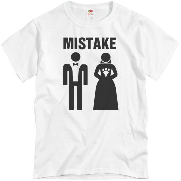 Mistake Marriage  Unisex Basic Gildan Heavy Cotton Crew Neck Tee