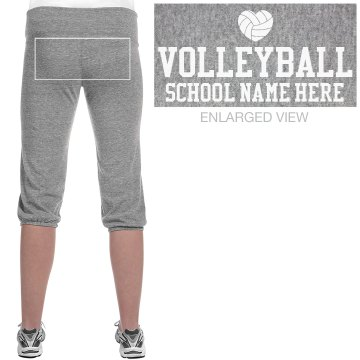 Volleyball Sweats Junior Fit Bella French Terry Lounge Pants