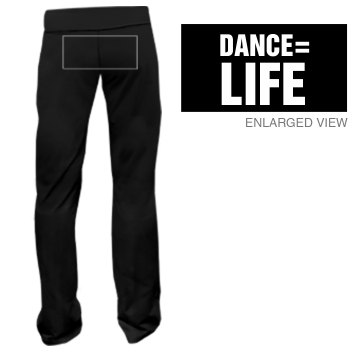Dance Is Life Junior Fit Bella Fitness Pants