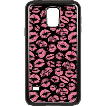 Kisses Samsung Case Rubber Samsung Galaxy S III Case Black