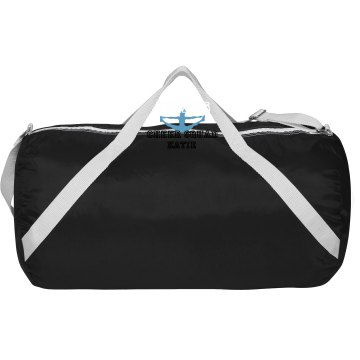 Tigers Cheer w&#x2F; Back Augusta Sport Roll Bag