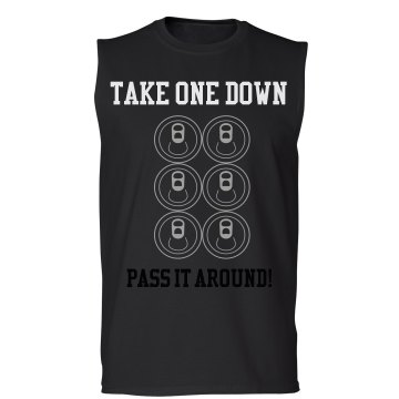 Pass it around! Unisex Gildan Ultra Cotton Sleeveless Tee